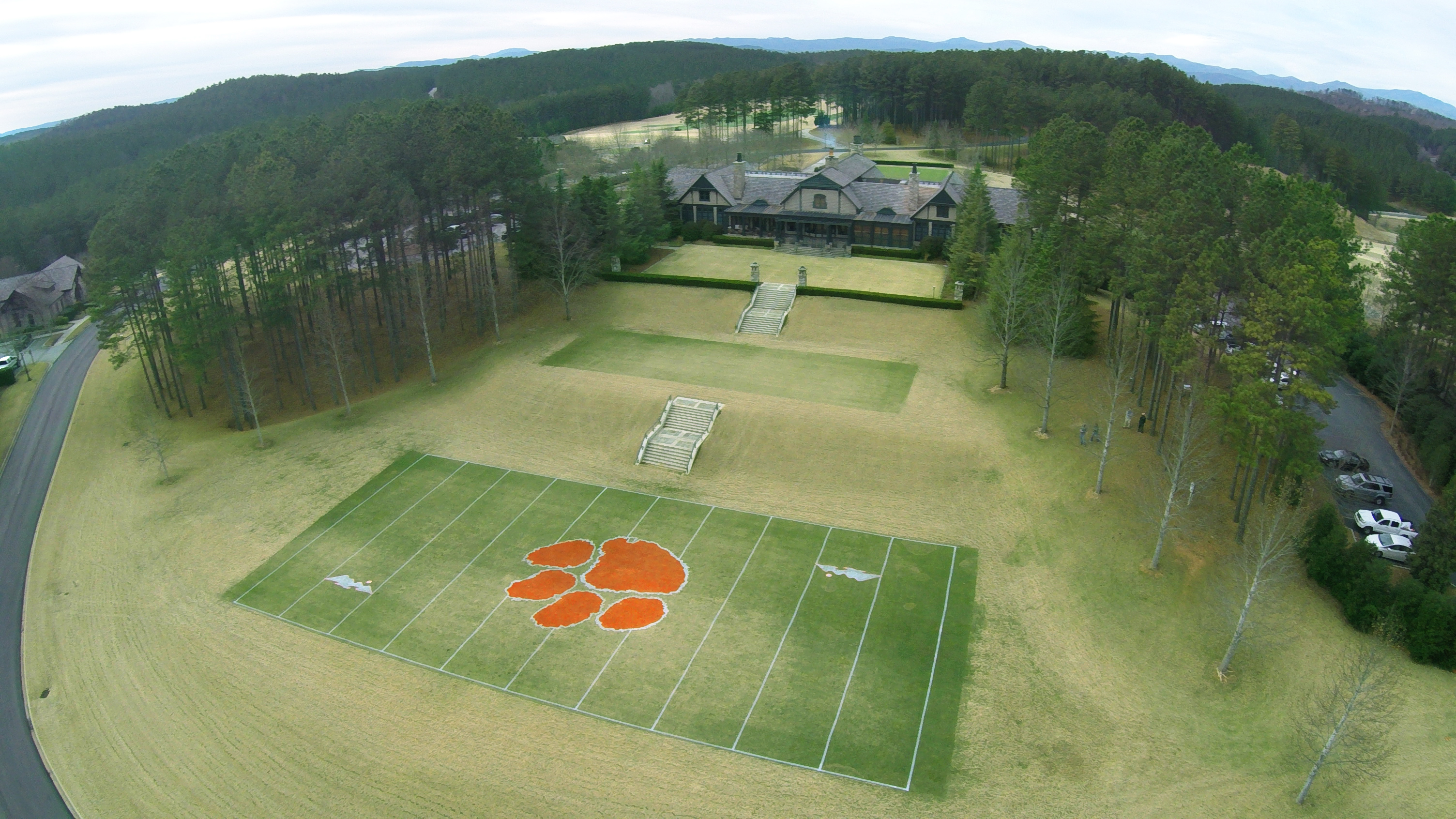 The reserve is all in for clemson football for Lake keowee house plans